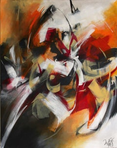 French Abstract Contemporary Art by MABRIS - Dialogue