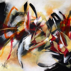 French Abstract Contemporary Art by MABRIS - Brouillon de Culture