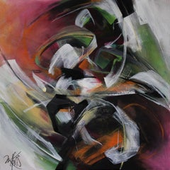 French Abstract Contemporary Art by MABRIS - Miroir de L'Infini