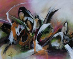 French Abstract Contemporary Art by MABRIS - Echo Graphique