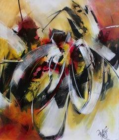 French Abstract Contemporary Art by MABRIS - La Fleur de L'Age