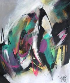 French Abstract Contemporary Art by MABRIS - Drôle de Coup de Pot