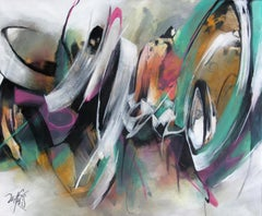 French Abstract Contemporary Art by MABRIS - Récit Sans Fin
