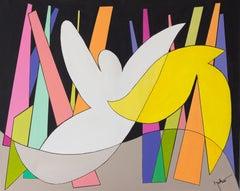 Austrian Contemporary Art by  Brigitte Thonhauser Merk - Peace