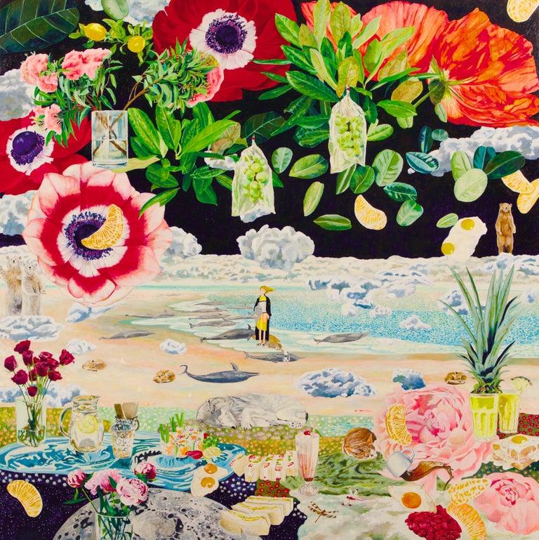 Teppei Ikehila Figurative Painting - Siesta