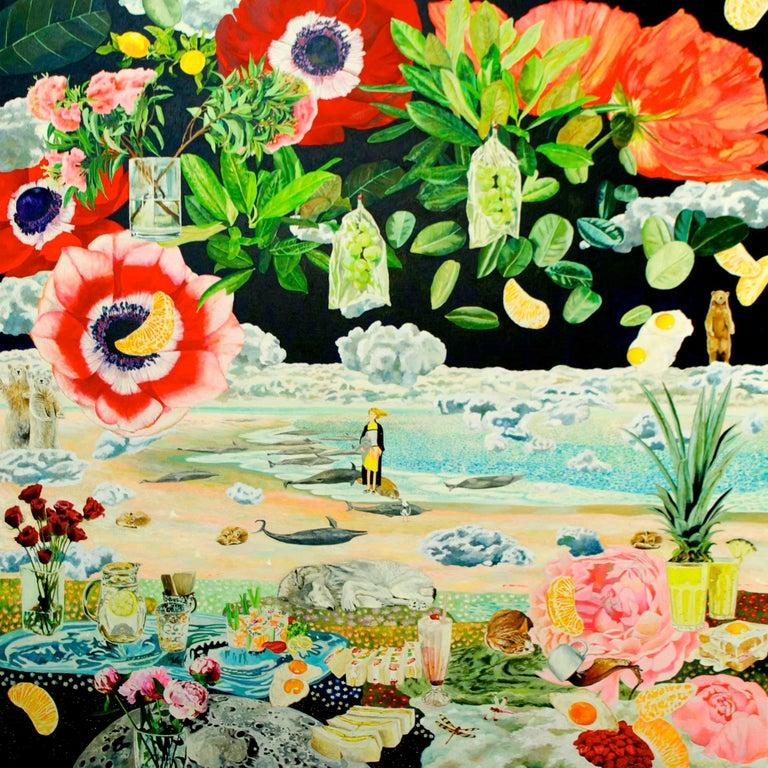 Siesta - Painting by Teppei Ikehila
