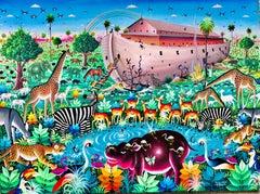 African Contemporary Art by Djiguemdé Roger - L'Arche de Noé