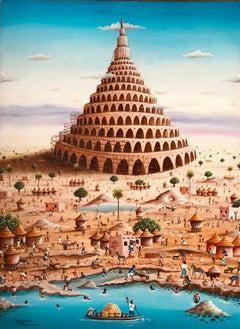 African Contemporary Art by Djiguemdé Roger - La Tour de Babel