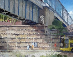 German Contemporary Art by Frank Suplie - Berlin, S-Bahnhof Schöneberg