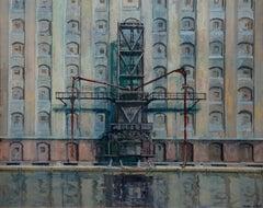 German Contemporary Art by Frank Suplie - Berlin, Osthafen, Getreidespeicher