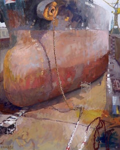 German Contemporary Art by Frank Suplie - Hamburg, Blohm&Voss, Nordic Hunter im