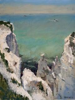 German Contemporary Art by Frank Suplie - Dover, Kreidefelsen, Erosion