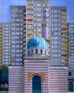 German Contemporary Art by Frank Suplie - Potsdam, Dampfmaschinenhaus, Moschee