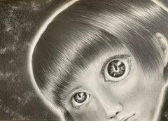 Japanese Contemporary Drawing by Tomo Sakurai - See Through Everything