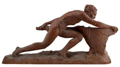 Ugo Cipriani, The Rudder, Terracotta, 1930s