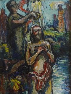 Baptism of Christ by Saint John the Baptist