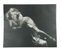 "George Hurrell ""Ann Sheridan"" Signed Photographic Print LE of 190 24"" x 20"" Con"