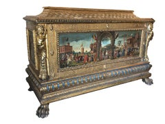 "Italian Renaissance Cassone 15th Century  ""The Doge of Venice"""