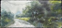 Irish Study VIII - 21st Century, Contemporary, Landscape, Watercolor on Paper