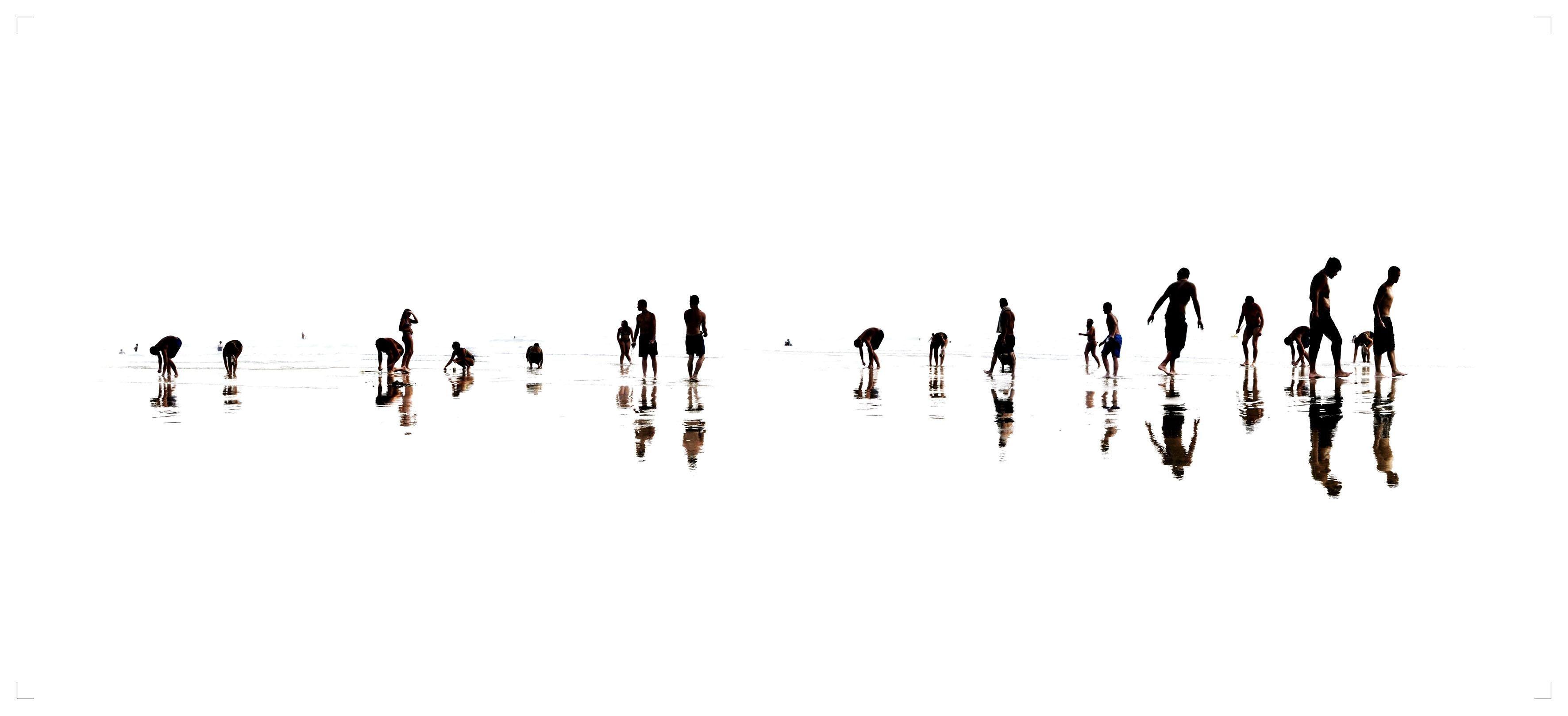 Plage 5 - 21st Century, Contemporary, Beach Landscape Photography