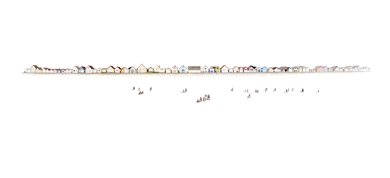 Plage 100 - 21st Century, Contemporary, Beach Landscape Photography