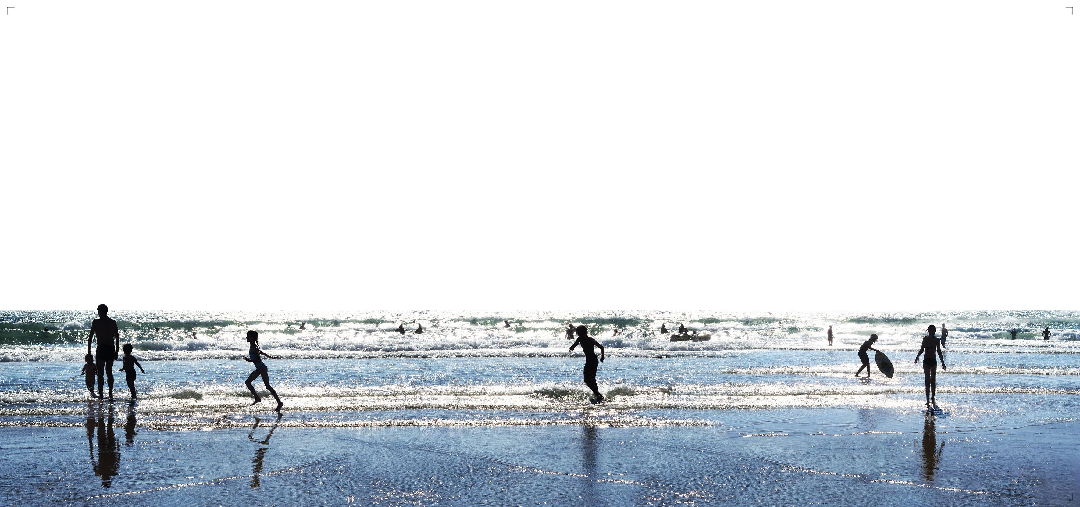 Plage 50 - 21st Century, Contemporary, Beach Landscape Photography
