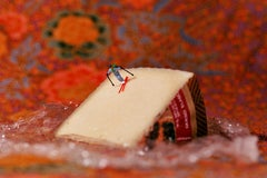 Cheese - 21st Century, Contemporary, Miniature Photography, Pigment Print