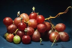 Grape Climbing - 21st Century, Contemporary, Miniature Photography