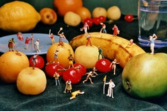 Multifruit - 21st Century, Contemporary, Miniature Photography, Pigment Print