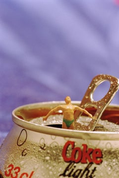 Coca Cola - 21st Century, Contemporary, Miniature Photography on Plexi
