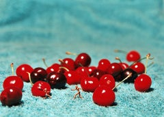 Cherries - 21st Century, Contemporary, Miniature Photography on Plexi