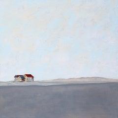 Ca l'Avi - 21st Century, Contemporary, Acrylic, Figurative Landscape Painting