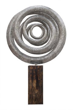 Orbit - 21st Century, Contemporary, Abstract Sculpture, Stainless Steel