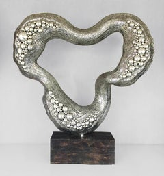 Exploration - 21st Century, Contemporary, Abstract Sculpture, Stainless Steel