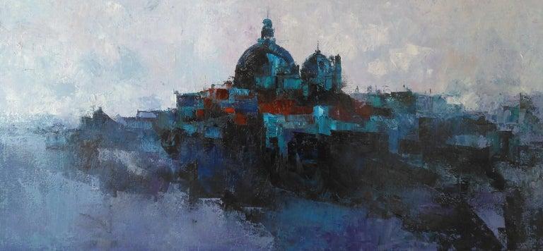Tomàs Sunyol Figurative Painting - La Salute - 21st Century, Contemporary, Landscape, Oil on Canvas