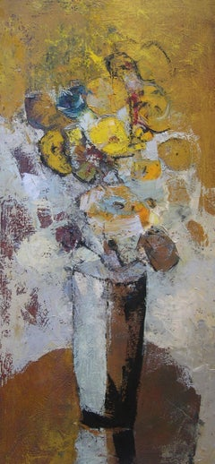 Flors nº 1 - 21st Century, Contemporary, Still Life Painting, Oil on Canvas