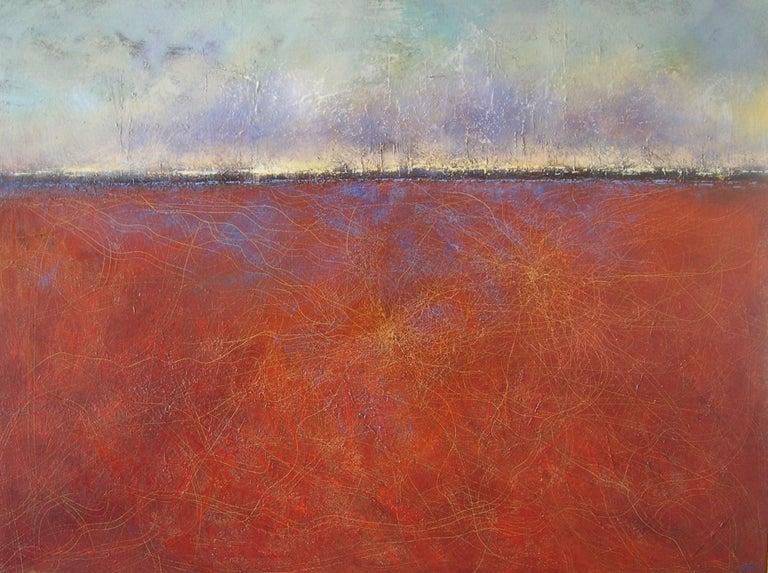 Horitzó nº 3 - 21st Century, Contemporary, Landscape Painting, Oil on Canvas 1