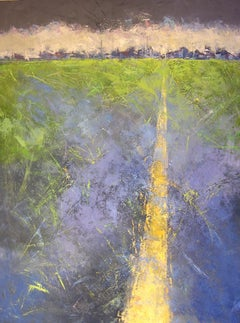 Travels nº 5 - 21st Century, Contemporary, Landscape Painting, Oil on Canvas