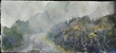 Irish Study V - 21st Century, Contemporary, Landscape, Watercolor on Paper