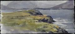 Irish Study II - 21st Century, Contemporary, Landscape, Watercolor on Paper