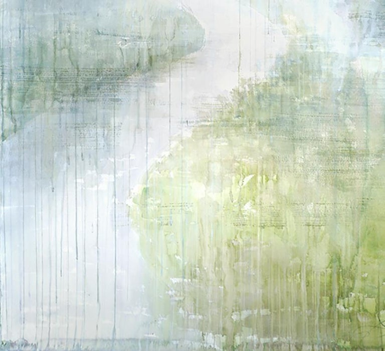 Magical Path - 21st Century, Contemporary, Landscape, Watercolor on Paper 4