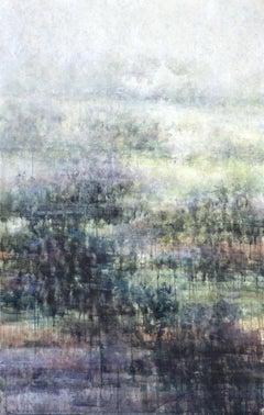 Donagh's Dream 3 - 21st Century, Contemporary, Landscape, Watercolor on Paper
