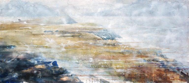 Ekaterina Smirnova Landscape Art - The Best Kept Secret - 21st Cent, Contemporary, Landscape, Watercolor on Paper