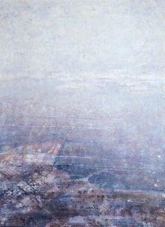 Hazy Landscape 3 - 21st Century, Contemporary, Landscape, Watercolor on Paper