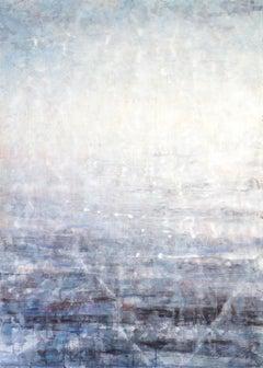 Hazy Landscape 4 - 21st Century, Contemporary, Landscape, Watercolor on Paper