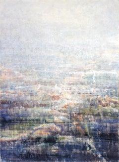 Hazy Landscape 1 - 21st Century, Contemporary, Landscape, Watercolor on Paper
