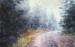 Blue Ridge - 21st Century, Contemporary, Landscape, Watercolor on Paper