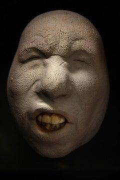 Nyllen 259 - 21st Century, Contemporary, Figurative Sculpture, Portrait, Ceramic