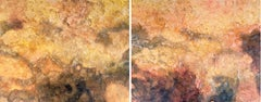El Maresme #1-2 - 21st Century, Contemporary, Abstract Acrylic Painting, Diptych
