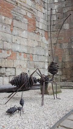 Hormiga Gigante - 21st Century, Contemporary, Figurative Sculpture, Iron, Ant